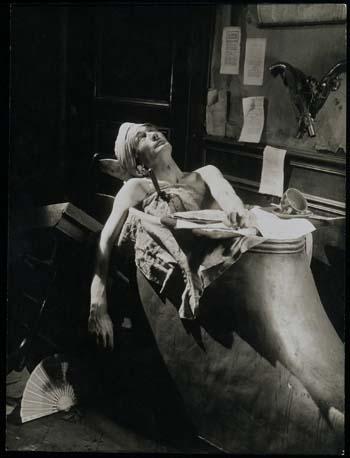 Artaud como Marat en Napoleón, 1927
